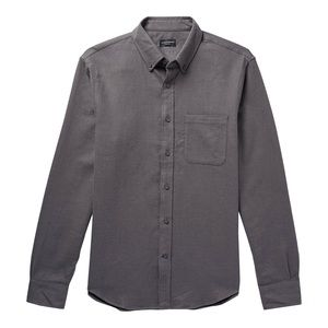 Club Monaco Grey Dress Shirt XL